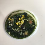 Spinach & Leek soup