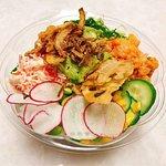 Photo of Poke fish sushi burrito &ramen noodle