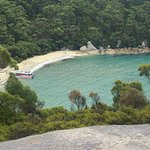 Looking down to Refuge Cove