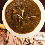 Palak paneer North Indian cuisine and our chef also North Indian.. Traditional all food homemade