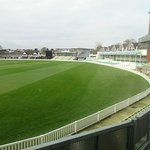 Cricket ground from room 3
