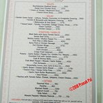 Rendezvous Cafe Restaurant - Menu Card 1