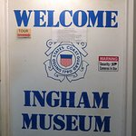 welcome sign for the Ingham Museum