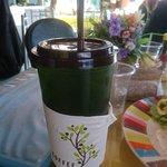 ชาเขียวน้ำผึ้งมะนาว