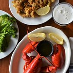 Fried Clams and Lobster
