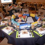 Habitat for Humanity of Orange County's Building Dreams Fundraising Breakfast Setup