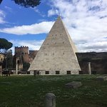 The only Pyramid in Rome.