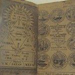 A XVIII century book in the Native American Museum