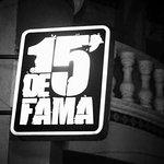 Logo 15' De Fama Disco-Bar