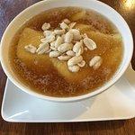 冷たい騒豆花(トッピングがピーナッツ)