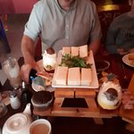 afternoon tea at The Square bar &Grill Maghull