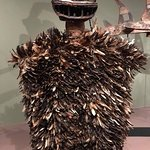 African art with lots of feathers