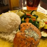 Fresh salmon!