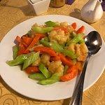 shrimp w/ carrot & broccoli