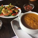 Grilled Vegetable and Pumpkin Soup