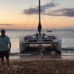 Gemini is fabulous. You get on and off the boat right on Kaanapali Beach