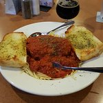 Terrific Italian food - the spaghetti sauce was some of the best I've ever had!  And the local F