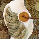 Steamed Momos (actually 6, diner jumped the gun...)