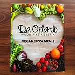 Our Vegan pizza menu' its finally ready :)))