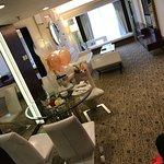 spacious room at royal suite