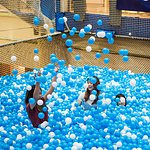 Enjoy the many balls in Singapore's only fully suspended ball pit
