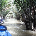 On coconut island in the Mekong Delta