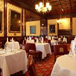 Peers` Dining Room at the House of Lords - Palace of Westminster