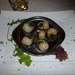 Classique, mais délicieux: les escargots !