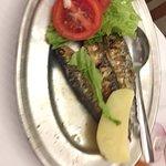 Após 5 dias em Lisboa, voltamos ao Caçador da Oliveira. Desta vez, pedimos um camarão cozido e a