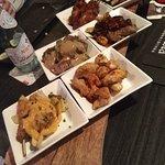 6 verschillende vleesgerechtjes bij Buena Vista