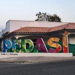 Pedasi town center