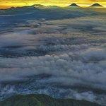 Photo of Mount Slamet