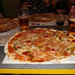The biggest and the tastiest pizza ever!
