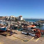 Overlooking the Port from the Restaurant floor