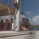 Journée idéale, inoubliable et magnifique à bord du Ty-Domino