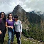 Linda visita al Cusco, mi hermana, la turista china y yo