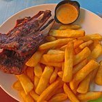 Fast Grill Ribs & Fries