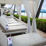Pool and Beach Cabana