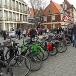 In Munster there are bicycles everywhere !