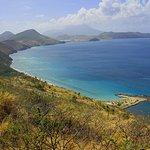 Scenic overlook on St. Kitts