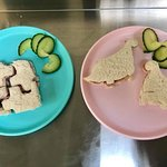 Children's shape sandwich