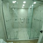Suite master bathroom w/ double shower heads