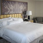 large & comfy bed