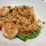 King prawn aglio olio (MUST-TRY!)