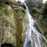 The uppermost cascade
