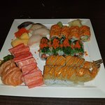 sushiiiiiii and sashimi