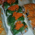 sushi with sea weed