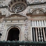 Cappella Colleoni (il cerchio della ruota della fortuna)