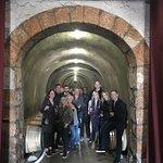 Flora Springs Wine Cave Ho, Shelley, Iris, Anthony, Lori, Brad, Jim,Kelly, Nicci, TJ, Chris