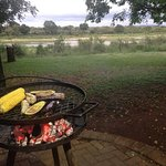 riverside BBQ at Lower Sabie